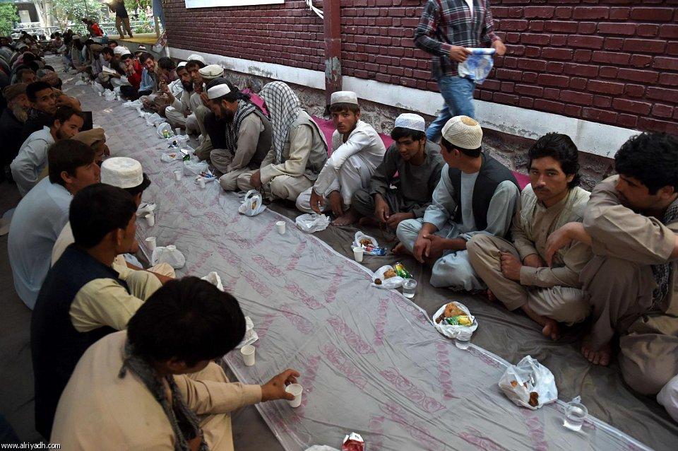 موائد إفطار أفغانستان