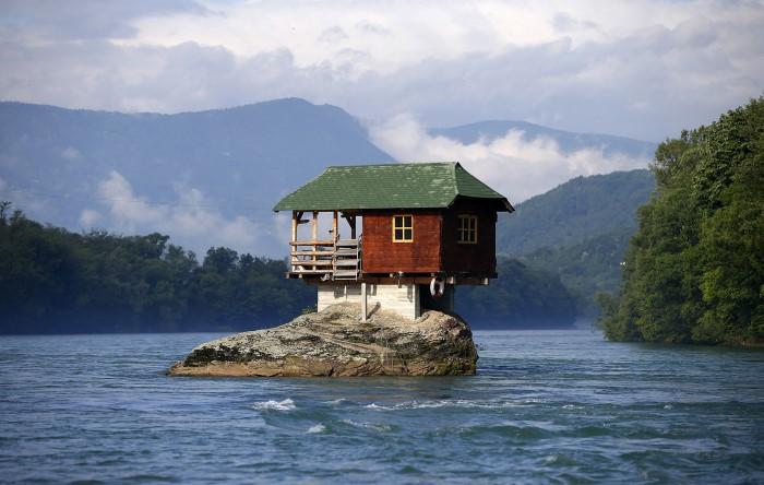 صور: أغرب المنازل من حول العالم