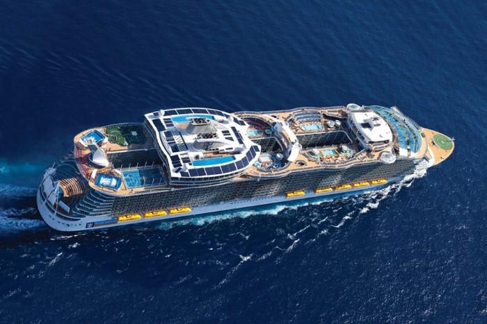 صور: أكبر سفينة سياحية في العالم