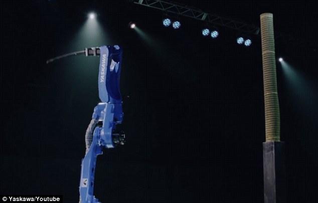 روبوت الساموراي يمتلك مهارة النينجا الحقيقية