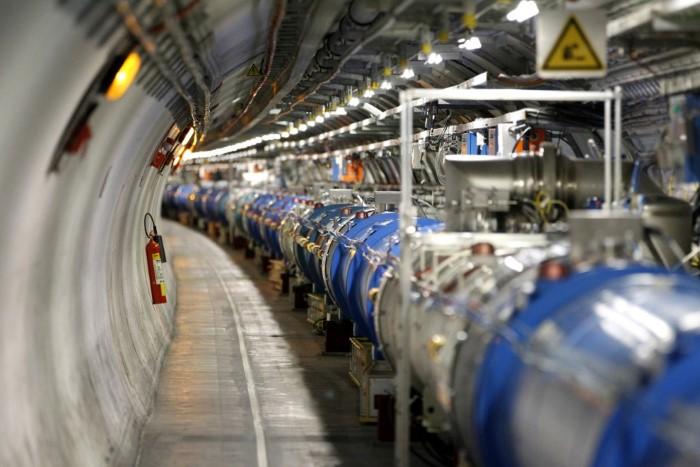 نفق المنظمة الأوروبية للأبحاث النووية