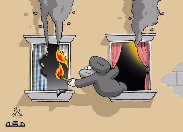 عبدالله جابر مواجهة الفتنة