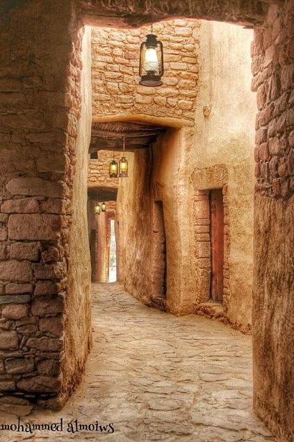 شوارع العلا الأثرية