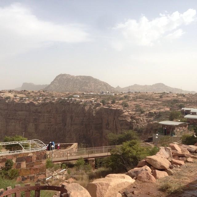 متنزهات سياحية جيملة في أبها عسير في المملكة العربية السعودية