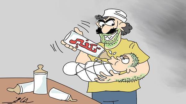 كاريكاتير: يد واحدة لمواجهة الفتنة