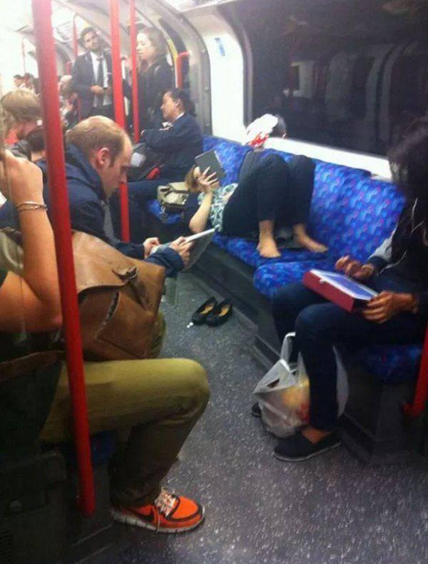النوم في القطار