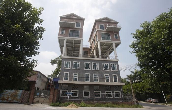 منزل بتصميم غريب وجميل
