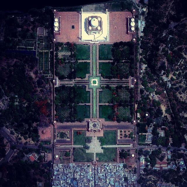 تاج محل، الهند صور جوية