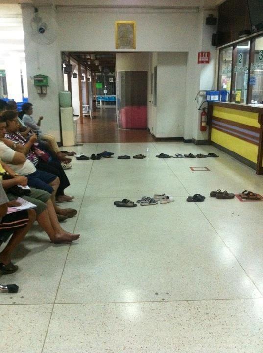 طوابير الانتظار في تايلاند