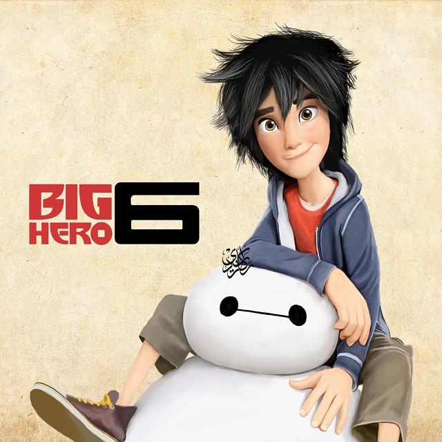 رسم big hero 6