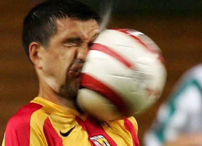 صور مضحكة من عالم الرياضة