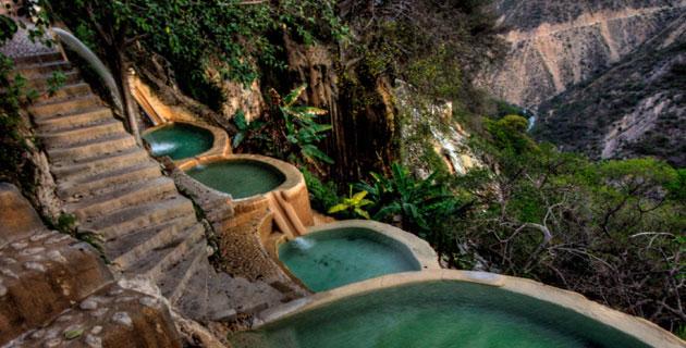 جروتاس دي تولانتونجو، المكسيك أروع الينابيع الساخنة في العالم