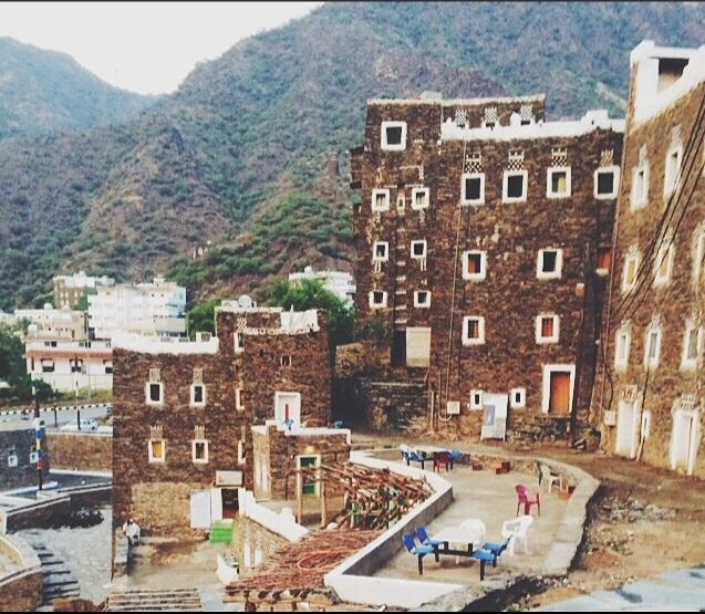 قرية تراثية في السعودية