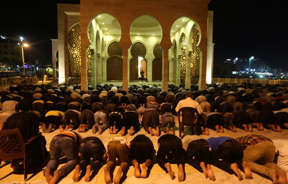 مسجد الخالدي في غزة