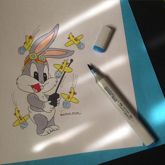 رسم شخصيات الكرتون والأنمي بإبداع كبير