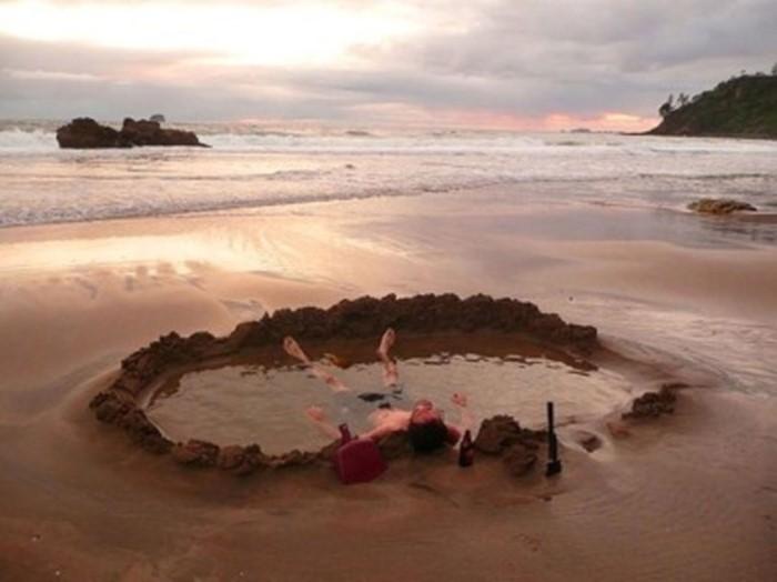 شاطئ المياة الساخنة، نيوزيلندا