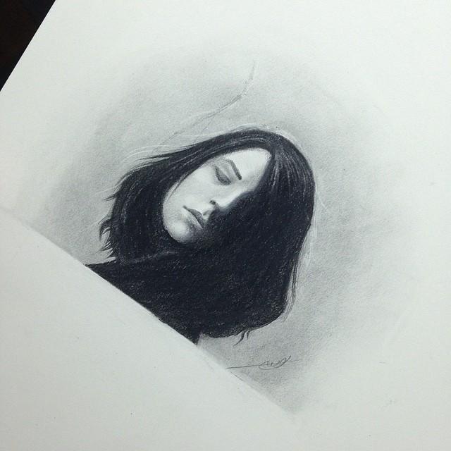 رسم بالقلم الرصاص