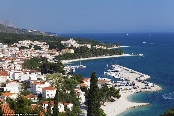 شاطئ باسكا فودا - باسكا فودا، كرواتيا