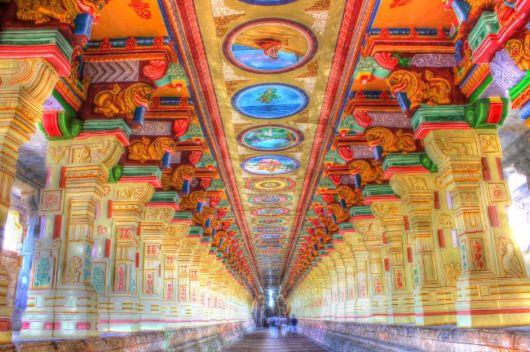 """معبد """"راميشوارام"""" لديه أطول ممر في العالم"""