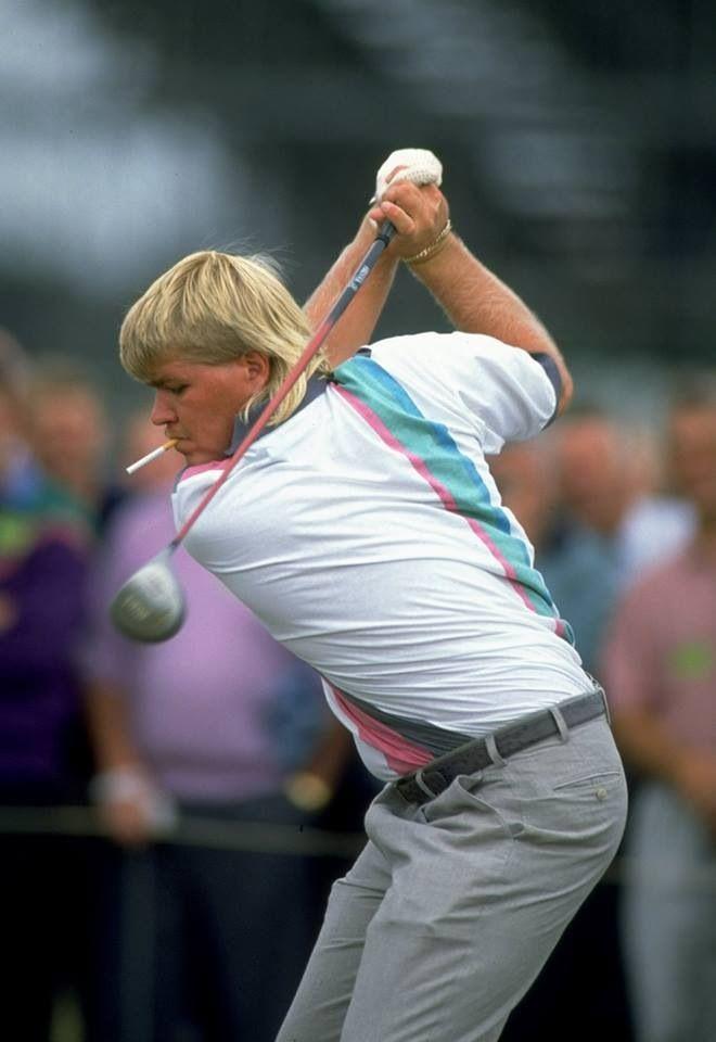 جون دالي، في بطولة بريطانيا المفتوحة للغولف 1992