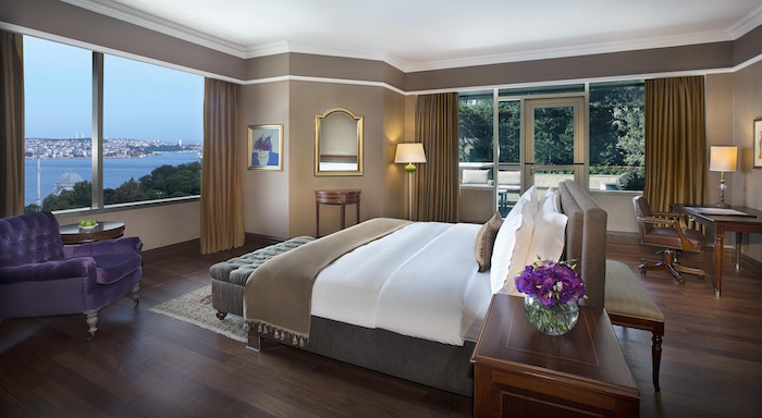 The RC Istanbul Presdential Suite Bedroom