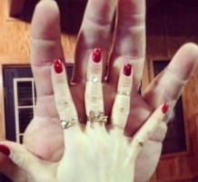 giant hands