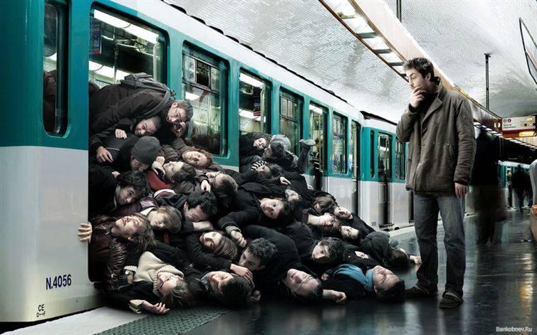 التلوث في محطات مترو الأنفاق