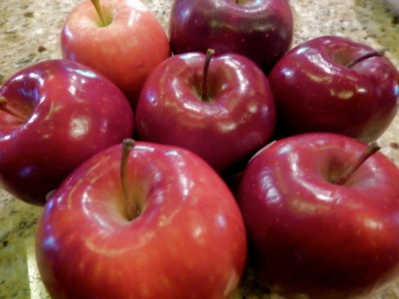 تغليف التفاح بالشمع