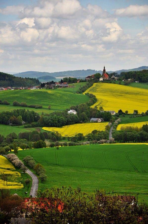 روعة وجمال الريف التشيكي.