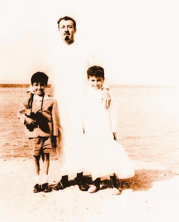 صورة نادرة للملك عبد الله