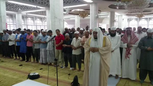 مسلمو هونج كونج يؤدون صلاة الغائب على الأمير المرحوم بإذن الله سعود الفيصل
