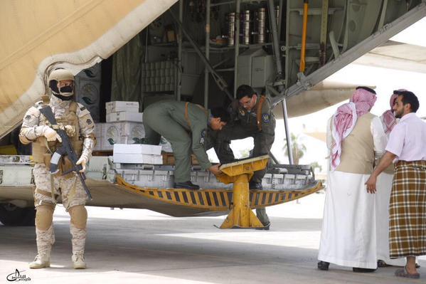 انتشار رجال الكوماندوز السعودي في مطار عدن الدولي