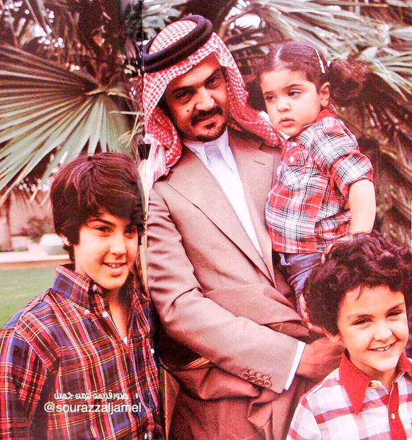 صورة قديمة لفقيد المملكة سمو الأمير سعود الفيصل
