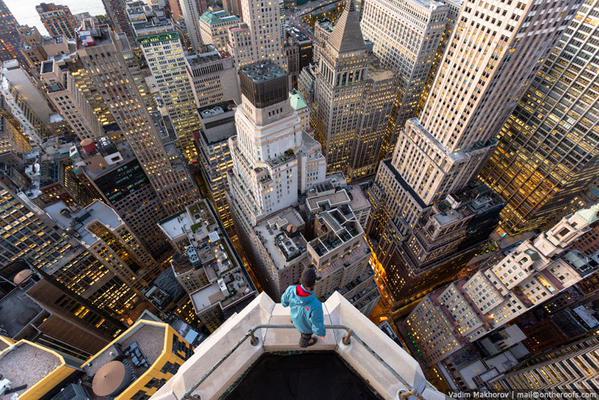 هكذا تبدو نيويورك من فوق أسطح المباني