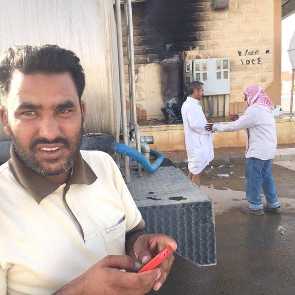 مقيم هندي شجاع، ينقذ 4 عوائل في حفر الباطن من حريق