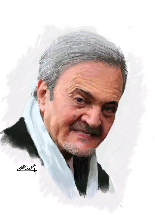 لرسام السعودي أحمد زهير يودّع فارس السياسة سعود الفيصل