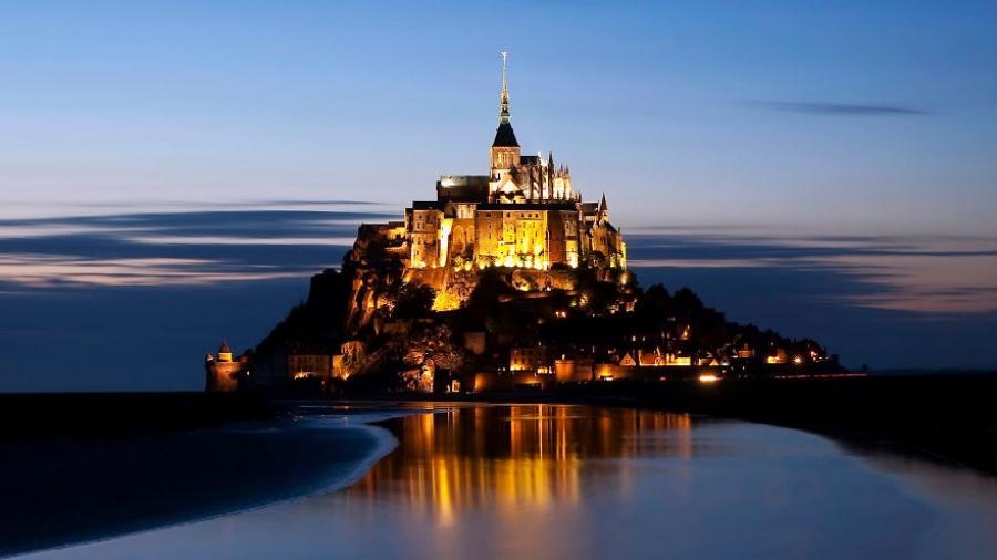 مونت سانت ميشيل، فرنسا