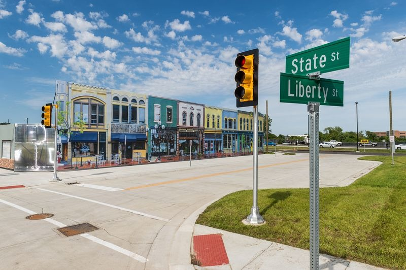 ولاية ميشيغان تبني مدينة وهمية لاختبار السيارات ذاتية القيادة