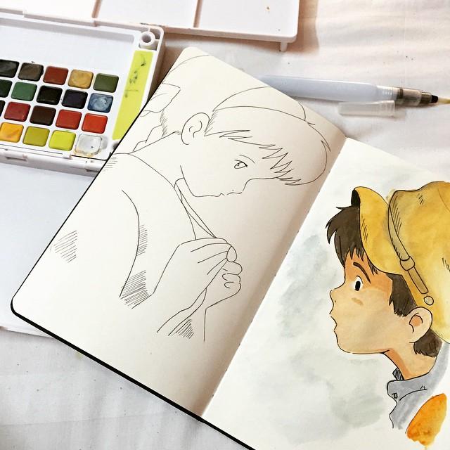 رسم كرتون