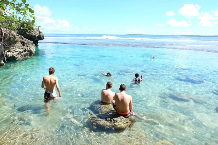 السياحية في شواطئ الفلبين