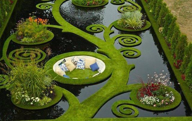 حديقة مياه جميلة