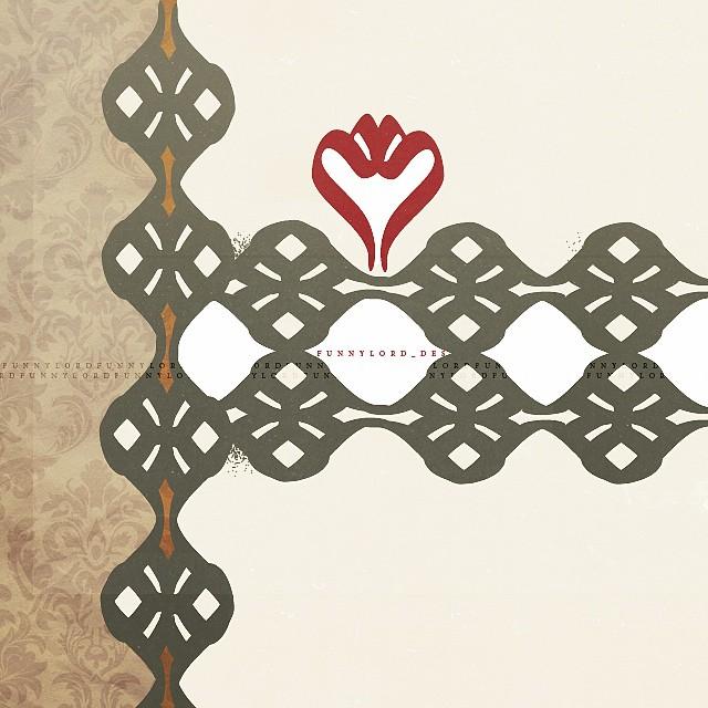 زخارف حروف عربية