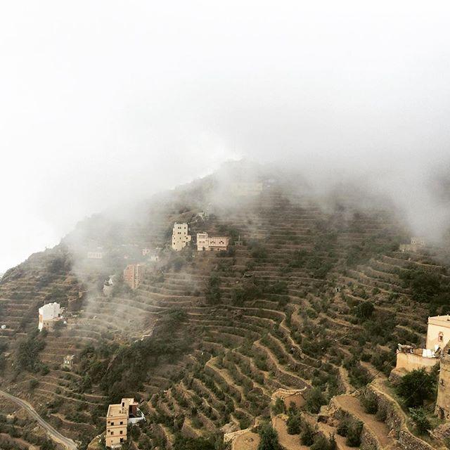 جمال الطبيعة في جبال فيفاء بجازان