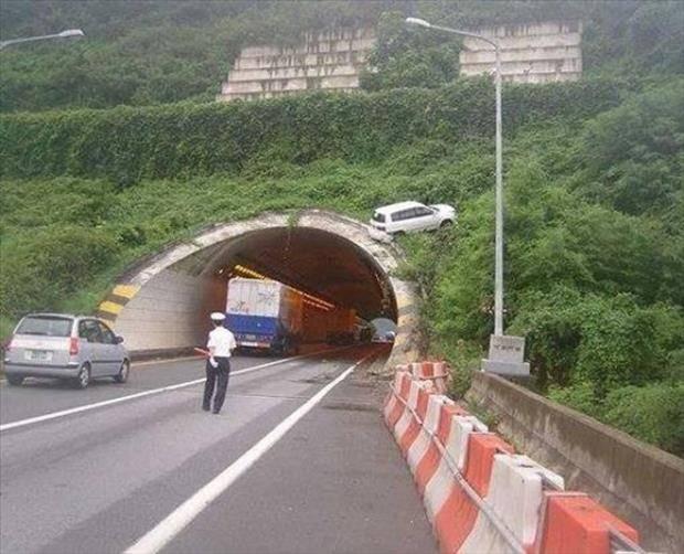 حادث غريب