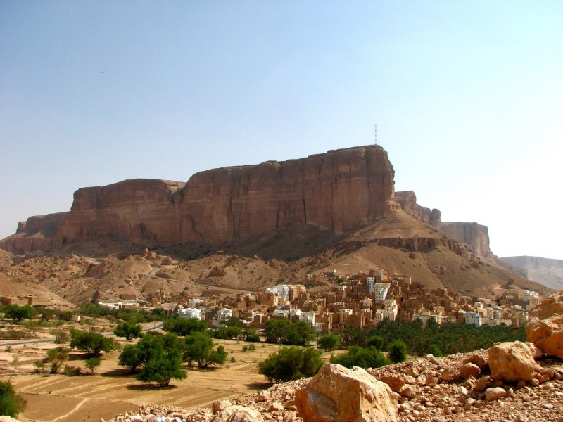 بلدة شبام في وادي دوعن