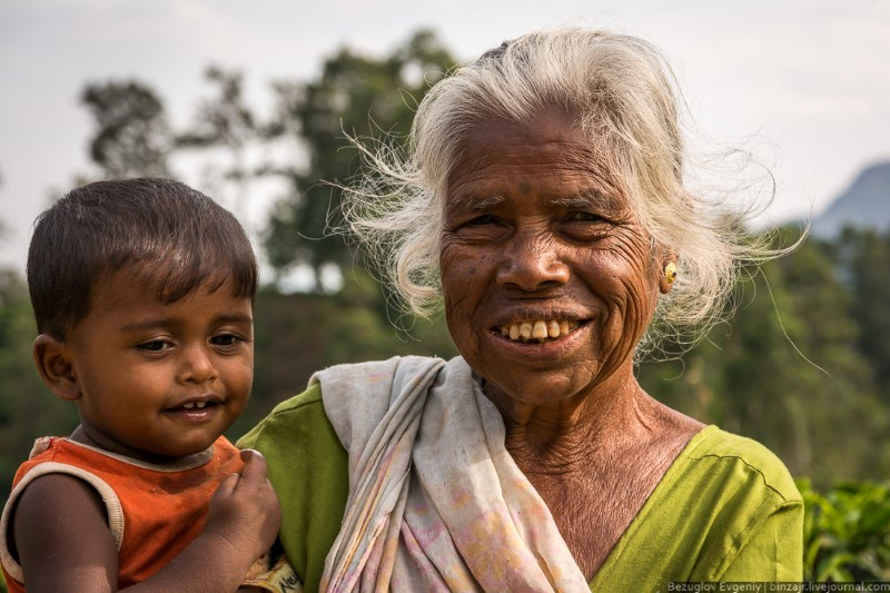 أهالي قرى سريلانكا