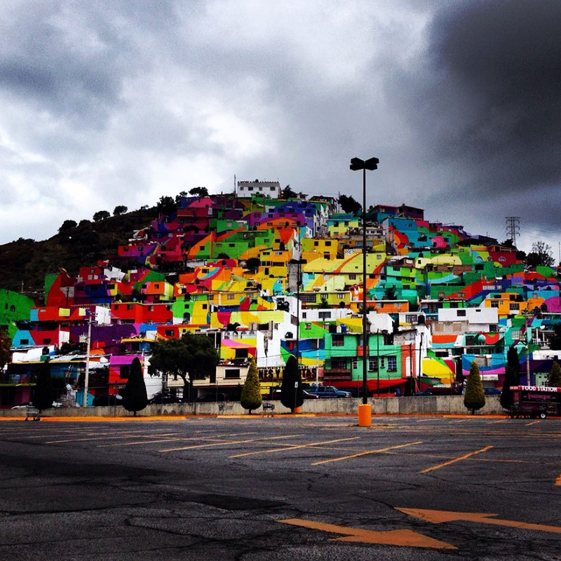 فن الشارع في المكسيك بواسطة فناني الشوارع في المكسيك