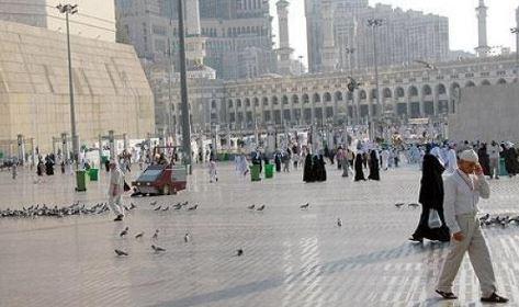 واي فاي وبلوتوث و5000 كاميرا مراقبة في المسجد الحرام