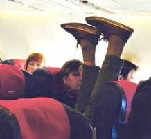 passengers aircraft
