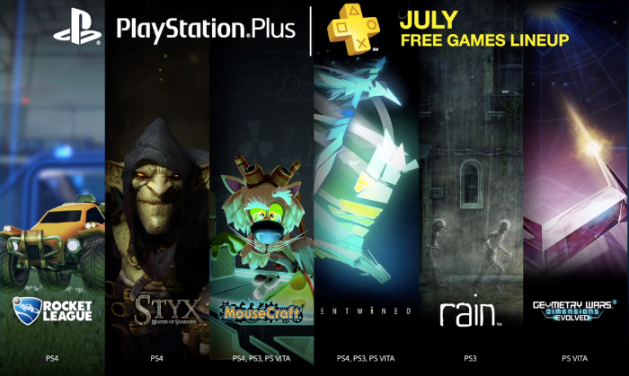 6 Games Free to PlayStation Plus Members in July 2015 Read more: http://www.cheatsheet.com/entertainment/6-games-free-to-playstation-plus-members-in-july-2015.html/?a=viewall#ixzz3f36iaJBy